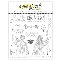 Cap And Gown | 6x6 Stamp Set