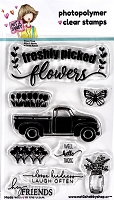 Flower Truck Clear Stamp - N2S