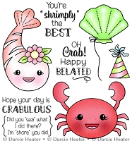 CRABULOUS - CLEAR STAMP