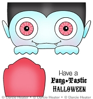 FANGTASTIC HALLOWEEN - CLEAR STAMP