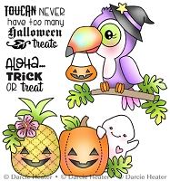 Toucan Halloween 3x4 Clear Stamp