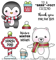 North Pole Pals - Clear Stamp