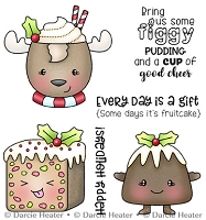 Figgy Pudding - Clear Stamp
