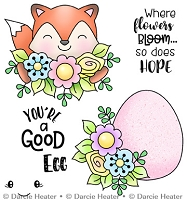 Hope Blooms - Clear Stamp