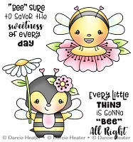 Bee all right - Clear Stamp
