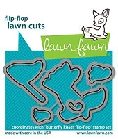 butterfly kisses flip-flop - lawn cuts