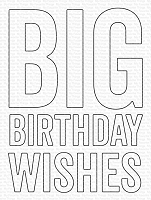 Big Birthday Wishes Die-namics WS