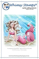 Mermaid Alexis Rubber Cling Stamp