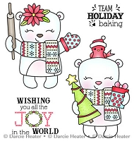 JOY IN THE WORLD - CLEAR STAMP