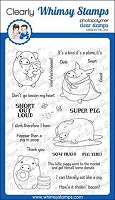 Pig Puns 2 Clear Stamps