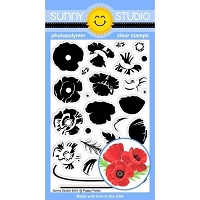 POPPY FIELDS STAMPS