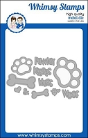 Puppy Paws Die Set