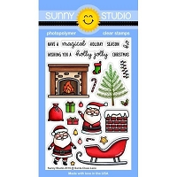 SANTA CLAUS LANE STAMPS
