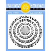 SCALLOPED CIRCLE MAT 3 DIES