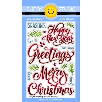 SEASON'S GREETINGS STAMPS