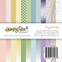 Paper Pad 6x6 | 24 Double Sided Sheets | Playful Pastels