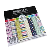 Spring Pick-n-Mix Patterned Paper