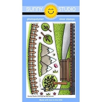 SPRING SCENES STAMPS