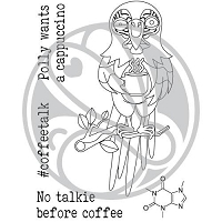 Caffeinated Parrot 3x4
