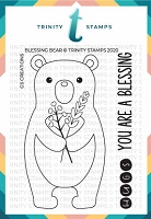 "Blessing Bear - 3x4"" Stamp Set"