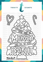 Merry And Bright Stamp
