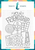 "Sweet Friendship - 3x4"" Stamp Set"