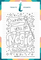 "You're Magic - 3x4"" Stamp Set"