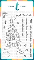 4x6 Tree-mendous Christmas Stamp