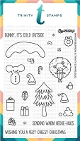 4x6 Winter Burrow Stamp Set
