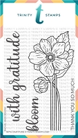 "With Gratitude - 4x6"" Stamp Set"
