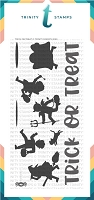 "Trick-or-Treat - 4x8"" Stamp Set"