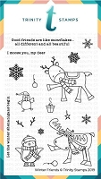Winter Friends 4x6 Stamp Set