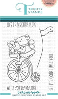 Circus Bear 3x4 Stamp Set