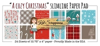 A Cozy Christmas - Slimline Paper Pad by Kat Scrappiness