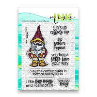 Big Mugs - Miss Ink 3x4 Stamp