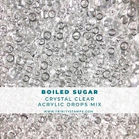 Boiled Sugar - Transparent Embellishment Drops