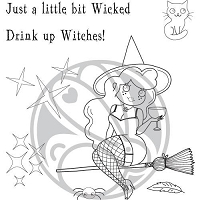 Cocktail Witch 4x4