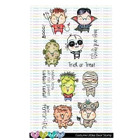 COSTUME LITTLES CLEAR STAMPS