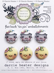 Ewe Amazing Chick - Tin Pins