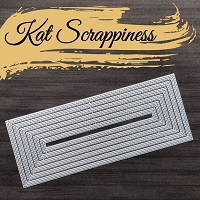 Double Stitched Nesting Slimline Dies by Kat Scrappiness