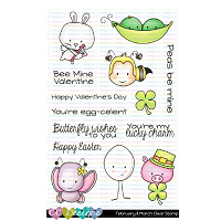 FEBRUARY & MARCH CLEAR STAMP SET