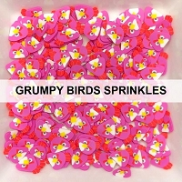 Grumpy Birds Sprinkles by Kat Scrappiness