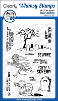 Halloween Scream Clear Stamps