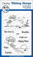 Happy Place Clear Stamps