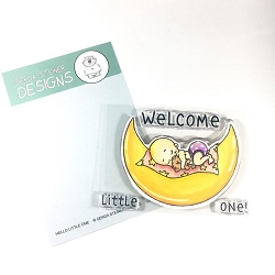 Hello Little One 3x4 Clear Stamp
