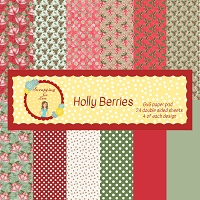 Holly Berries 6X6 Scrapping for Less Paper Pad