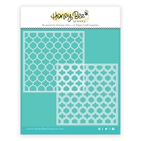 Quatrefoil Layers | Stencils | Set of 2