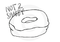 Large Donut - DIGITAL DOWNLOAD