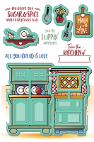 Country Kitchen Die Set