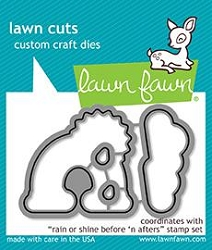 rain or shine before 'n afters - lawn cuts